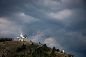 Svatý kopeček (Holy Hill) in Mikulov